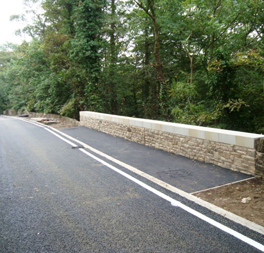 Works Completed on A635 Cawthorne - Barnsley MBC