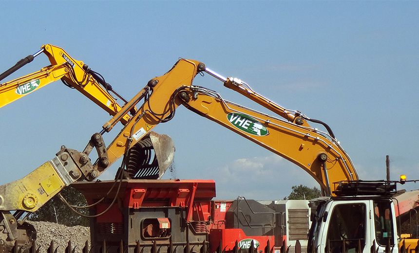 VHE carry out contaminated land remediation, earthworks and infrastructure works in the UK