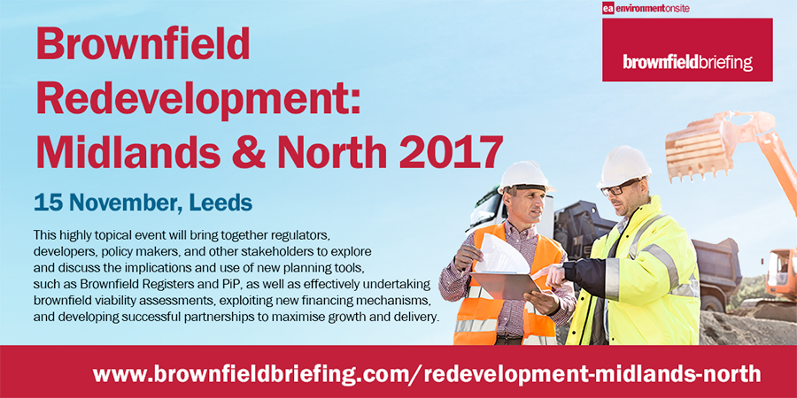 VHE to exhibit at Brownfield Redevelopment: Midlands and North Conference