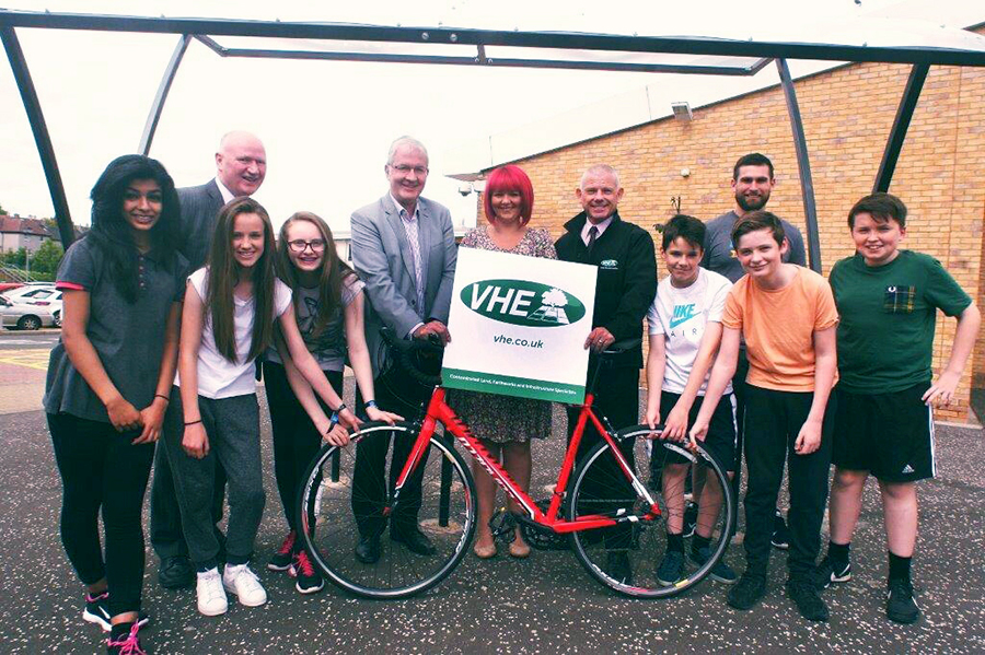 VHE support Cycling scheme for Schools