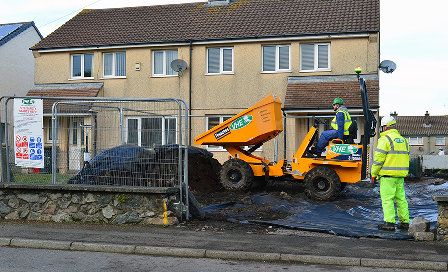 VHE commence Part 2A Garden Remediation works in Anglesey