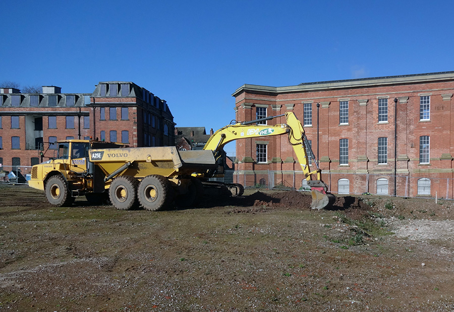 VHE successfully complete remediation and regeneration of the former Wolverhampton Hospital site