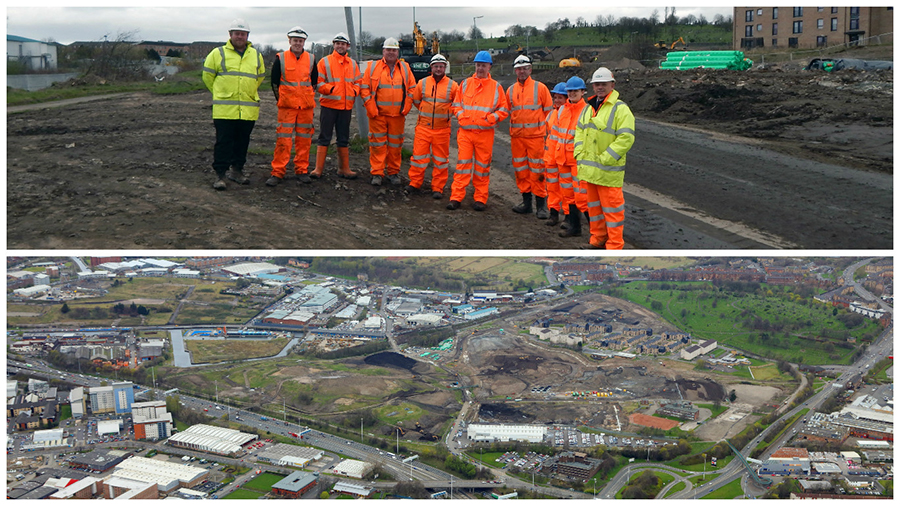 AMCO Staff Visit Sighthill