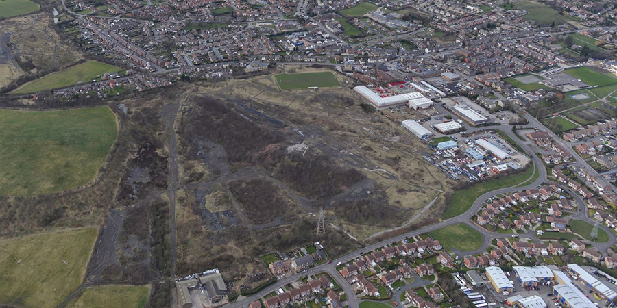 £36 million for development of Brownfield Land