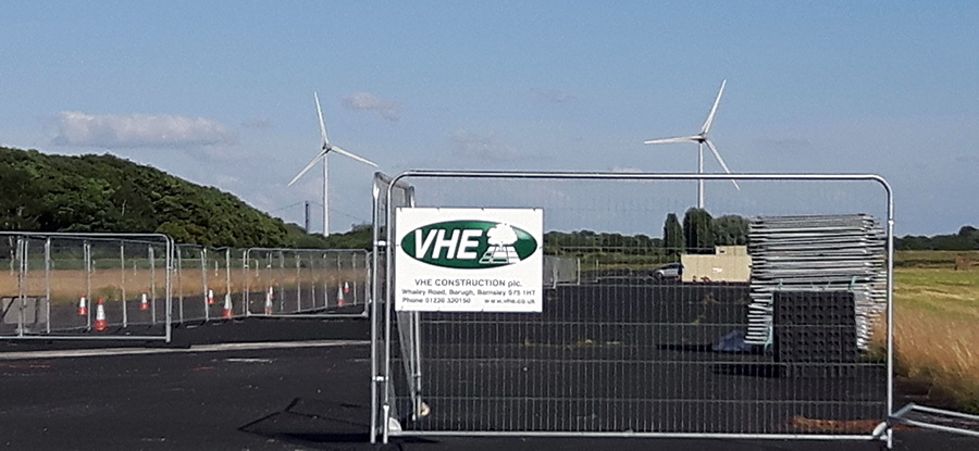 VHE commence works at former Brough Aerodrome