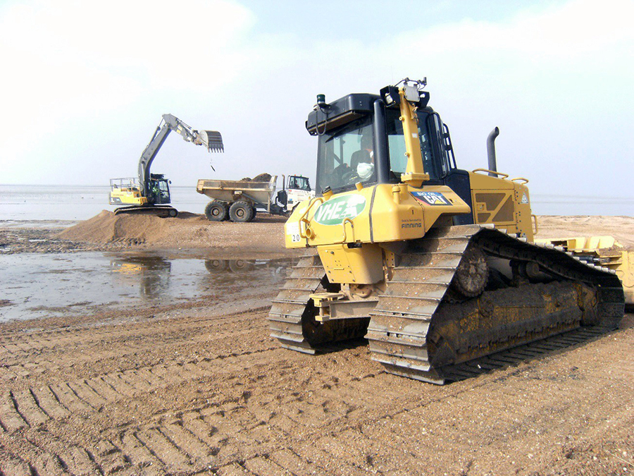 VHE wins Hunstanton to Heacham sea defence works
