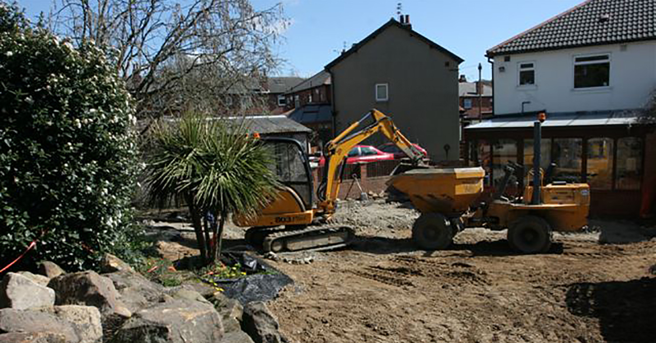 Meanwood Domestic Gardens Remediation