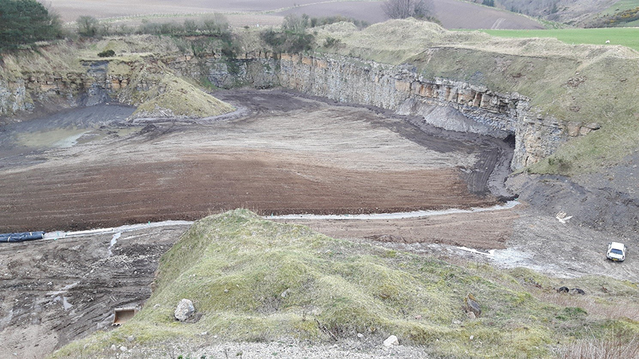 VHE complete Middleton Quarry Lining