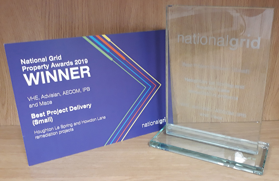 VHE celebrates success at National Grid Property Awards