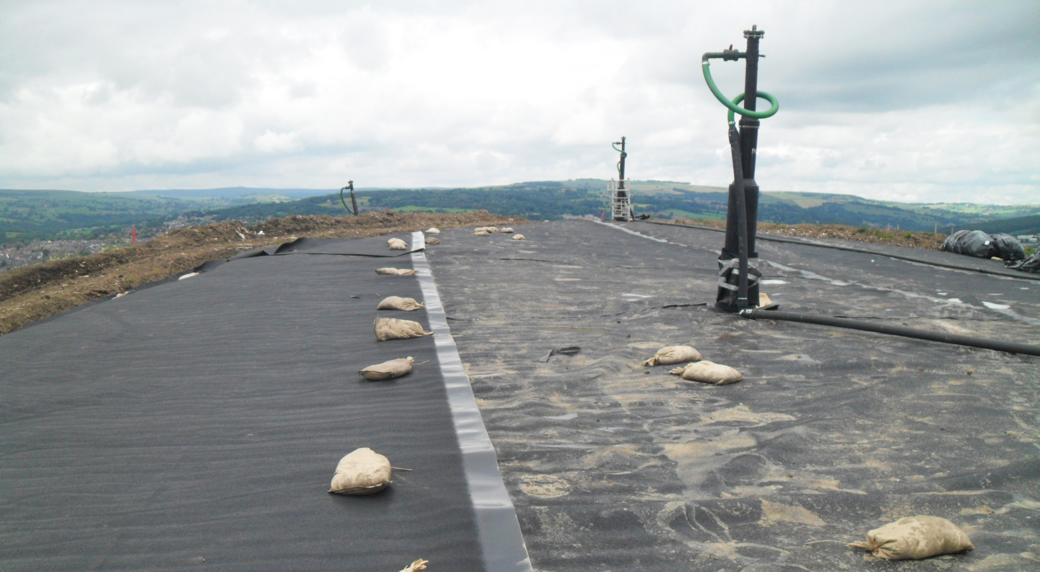 VHE were awarded the contract for the permanent capping of the Landfill Cell at Parkwood Landfill in Sheffield.