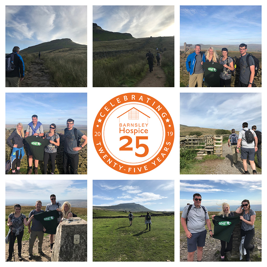Team VHE complete Yorkshire Three Peaks Challenge!